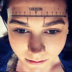 Microblading brow design