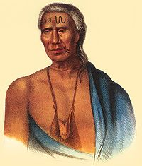 "Lapinowsa, Chief of Lenape 1737 European contact in16th  17th c; Lenape inhabited region of mid-Atlantic coast called the Northeastern Woodlands. never politically unified, it is frequently referred to as Lenapehoking (""Lenape country""). roughly comprised the area around and between the Delaware and lower Hudson rivers, and included the western part of Long Island in present-day NY."