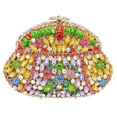 Luxury Evening Bags Colorful Patchwork Women Evening Clutch Bags Beautiful Lady Party Bags Gourd Shape_9     https://www.lacekingdom.com/