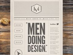 Slick and modern - Designspiration — manateamsitetop.jpg (400×300)