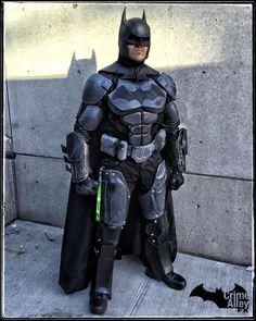 My Batman Arkham Origins NYCC 2015 Costume Cosplay homemade Crime Alley FX