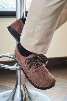 Kotzeb Damen Faux Leder Oxfords Schuhe Schnürer Platform