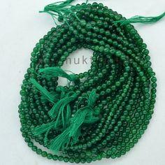 Green Margaj Beads lines  Natural Margaj by DevmuktiJewels on Etsy