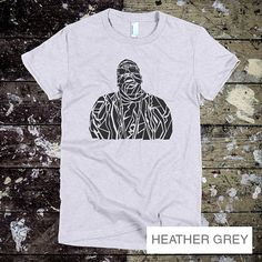 Biggie Smalls T-Shirt - Biggie Men's tee - Hip Hop Rap R&B music S-XL -  Women's Heather Grey T-shirt - Womens Grey T-shirt