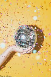 Hand Holding, Holding Hands, Disco Night, Mirror Ball, Confetti, Mirrors, Hold On, Party, Check