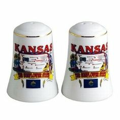 """Kansas Salt And Pepper Set Set State Map (48 Pack) by DDI. $375.54. High quality items at low prices to our valued customers.. Please refer to the title for the exact description of the item.. 100% Satisfaction Guaranteed.. We proudly offer free shipping. We can only ship to the continental United States.. All of the products showcased throughout are 100% Original Brand Names.. Kansas Salt And Pepper Set. Each Piece Is 3"""" H X 2"""" W. State Map"""