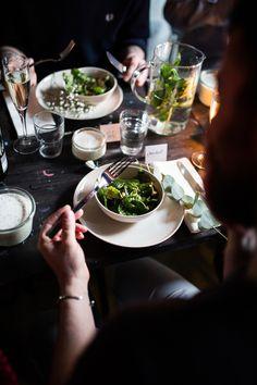 Es grünt so grün- Dinnerparty im Studio BlinkBlink von Mumm Sekt und Herzundblut! #Mummxherzundblut!