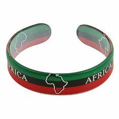 Rasta Plastic Bangles-Africa W03S63B Rasta/NYE. $5.99