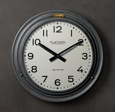 Kitchen. Flatiron Hinged Clock