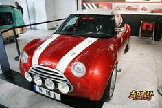 OG | 1997 Mini ACV 30 (Anniversary Concept Vehicle 30) | Designed by the current BMW head of design Adrian Van Hooydonk, it was proposed as the new MINI in the mid-90s.