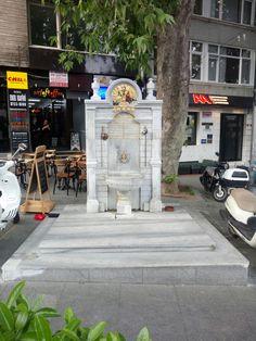 Lütfi bey çeşmesi. KüçükBebek  İSTANBUL TÜRKİYE PHOTOGRAPHER By M. Fatih Kitabesinden Abdülhamid,II tarafından hizmetkarı Lütfi Bey'in ruhu için yapıldığı anlaşılmaktadır. Istanbul, Pumps, Hat, Houses, Chip Hat, Pumps Heels, Pump Shoes, Hats, Hipster Hat