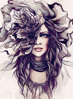 incredible!  #fashion #photography #art #painting #design #watercolor #interior