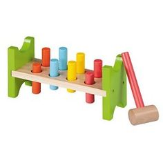 Jouéco - Houten Hamerbank #houtenspeelgoed #speelgoed #houtenhamerbank #educatiefspeelgoed #jueco #babyspeelgoed #peuterspeelgoed