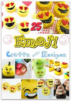 25 Emoji Crafts & Recipes