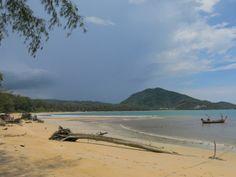 A quiet day in the low season at Nai Yang Beach.