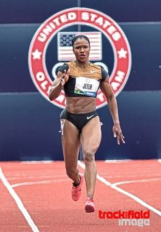 "Carmelita Jeter! ""Best of the Best"""