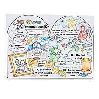 Color Your Own All About the 10 Commandments Posters - 48/7882