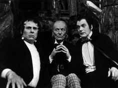 "William Hartnell as the First Doctor with Frankenstein & Dracula - ""The Chase"" - 1965"