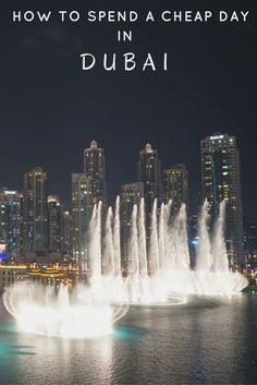 Have a layover in Dubai ? Travelling on a budget? Do this in one day for cheap and still get a good feel for the city, old and new.