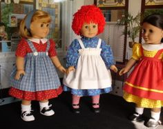 Doll Clothes Patterns  Alice Dinah and Friends     No 1028