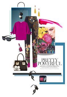 """Pretty Powerful"" by mathilda-moo ❤ liked on Polyvore featuring Etro, Calvin Klein, Monies, A.F. Vandevorst, Clinique, Goshwara, Christian Dior, Elizabeth and James, Dior and Elizabeth"