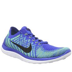 Conforming to the fit of the foot, this Nike shoe is designed to be comfortable and breathable with style in mind.  http://coolneonshoes.com  #nike #nikes #blue #trainer