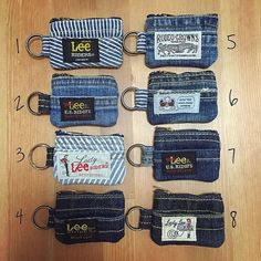 36 ideas for recycling jeans or ropa vaquera - # 36 Jean Crafts, Denim Crafts, Diy Jeans, Fabric Crafts, Sewing Crafts, Sewing Projects, Denim Ideas, Denim Bag, Sewing Patterns