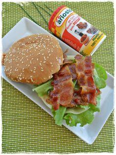 hamburger pentole e petali bacon curry erba cipollina ariosto piccante