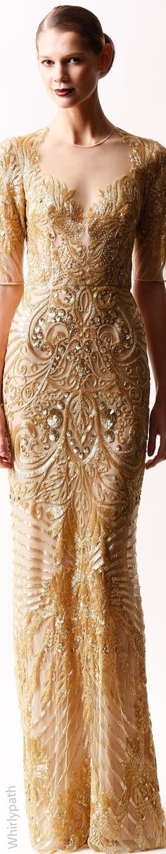 See more about naeem khan, nicole kidman and long dresses. Naeem Khan, Beautiful Gowns, Beautiful Outfits, Cool Outfits, Fashionable Outfits, Gold Fashion, High Fashion, Couture Dresses, Fashion Dresses