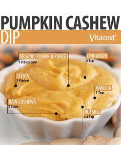 Pumpkin Cashew Dip