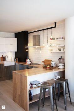 Apartament skandynawski  - Kuchnia - Styl Skandynawski - Soma Architekci