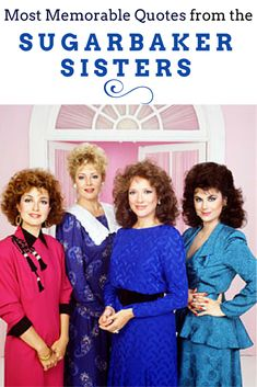 Television has given us many sisters. None quite as memorable as Julia and Suzanne Sugarbaker.