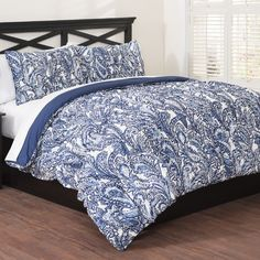 Found it at Wayfair - 3 Piece Comforter Set