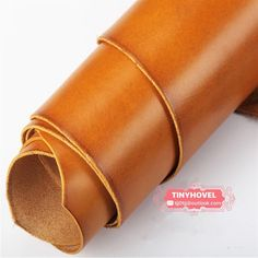 WUTA Waxed Veg Tanned Leather Handmade DIY First Layer Leather Piece Finished Full Grain Leather Material Drum Choose Sewing Leather, Leather Fabric, Leather Material, Cowhide Leather, Soft Leather, Leather Sheets, Leather Crafting, Leather Skin, Leather Bag
