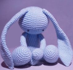 Free Crocheted Amigurumi Bunny Pattern - Crafts - free, easy