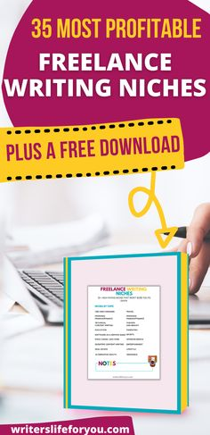 Are you struggling to find a freelance writing niche that will make you money? Then grab yourself this free list as it has over 35 most profitable freelance writing niches that will make you a full-time income.| High paying freelance writing niches| best niches for content writing| most profitable copywriting niches| profitable freelance writing topics #freelancewritingniches #freelancewritingforbeginners Family Business, Business Tips, Online Business, Writing Topics, Writing Advice, Creating A Blog, Copywriting, Make More Money, Growing Your Business