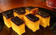 Bolo de cenoura com cobertura de chocolate - Receitas - GNT