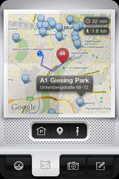 Parkbud Maps - Who needs Parking Space?