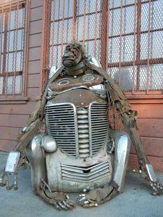 - Amazing Metal Sculptures in West Oakland  Via...