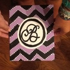 Monogram crafting. Four C's for next year!