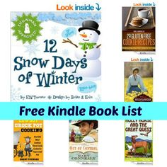 237 best free ebooks images on pinterest free ebooks homeschool free kindle book list 12 snow days of winter out of control cowboy crock pot cooking and more fandeluxe Choice Image