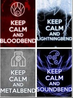 Keep calm and Bend! #Avatar
