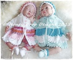 e5f14f011 68 Best Honeydropdesigns REBORN BABY KNITTING PATTERNS images in ...