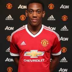 Anthony Martial's shirt number for Manchester United - Official Manchester United Website