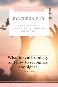 When it's not just a coincidence anymore. What is the meaning of Synchronicity and how can you learn how to read the signs? Spiritual Health, Spiritual Guidance, Spiritual Awakening, Spiritual Quotes, Spiritual Growth, What Is Synchronicity, Coaching, Signs From The Universe, Law Of Attraction Quotes
