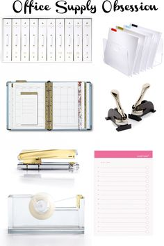 Office Obsession: Russell and Hazel office supplies | via TheEsquirette.com