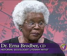 Television interview with Jamaican scholar, Dr. Erna Brodber, on history, emancipation, culture.  #slavery #history #Jamaica