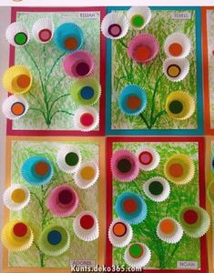 Spring Toddler Crafts Easter Crafts For Kids Summer Crafts Kindergarten Crafts Preschool Crafts Classroom Projects Art Classroom Ecole Art Toddler Art Kids Crafts, Summer Crafts, Toddler Crafts, Arts And Crafts, Paper Crafts, Craft Kids, Craft Projects, Spring Activities, Art Activities