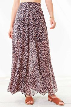 Ecote Lilith Maxi Skirt