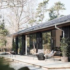 Modern Farmhouse Plans, Dream House Plans, Danish Design, Tiny House, Cottage, Cabin, Country, Architecture, Building